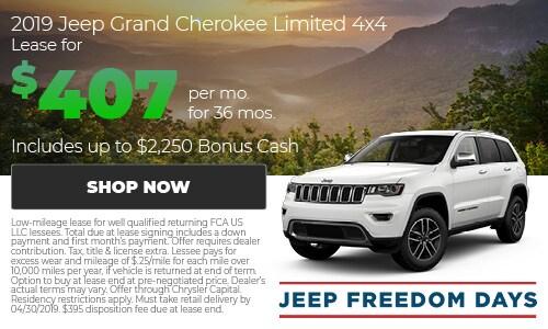 April   2019 Grand Cherokee