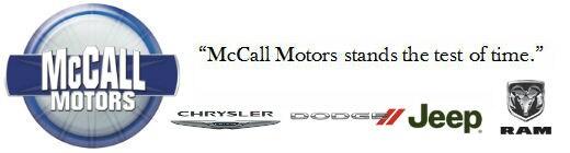 McCall Motors, Inc.