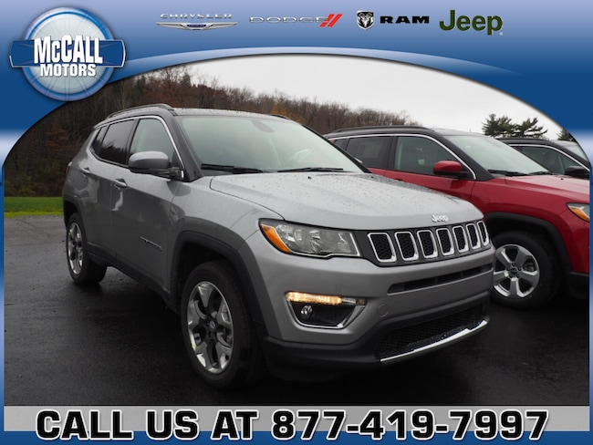 New 2019 Jeep Compass LIMITED 4X4 Sport Utility Altoona PA