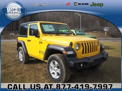 New 2019 Jeep Wrangler SPORT S 4X4 Sport Utility for sale in Altoona PA