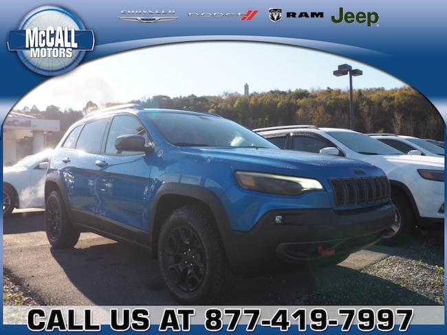 New 2019 Jeep Cherokee TRAILHAWK 4X4 Sport Utility Altoona PA