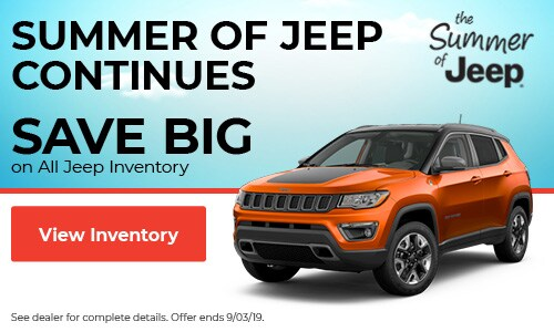 August | Summer Of Jeep