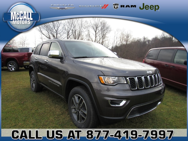 New 2019 Jeep Grand Cherokee LIMITED 4X4 Sport Utility Altoona PA