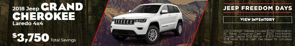 March | 2018 Grand Cherokee