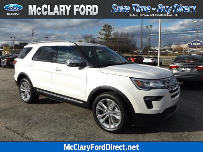 new 2019 Ford Explorer XLT FWD in Athens, AL