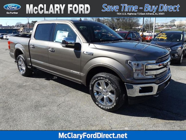 new 2019 Ford F-150 Lariat 4WD SuperCrew 5.5 Box in Athens, AL