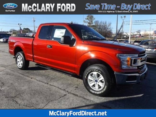 new 2019 Ford F-150 XLT 4WD SuperCab 6.5 Box in Athens, AL