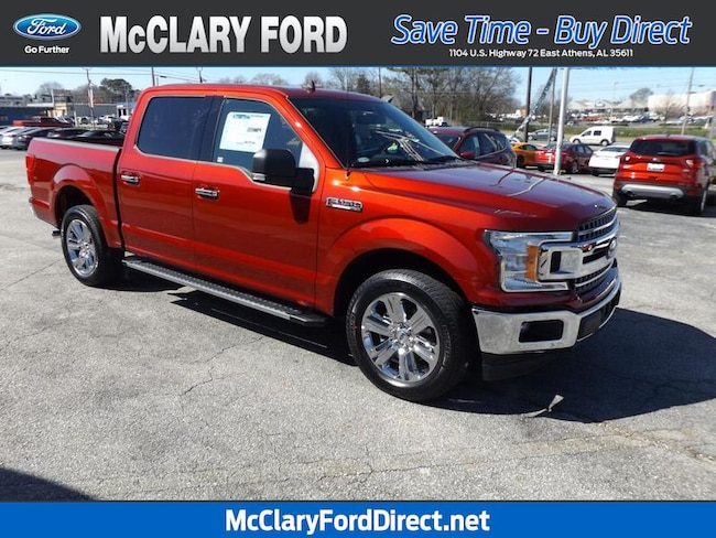 new 2019 Ford F-150 XLT 2WD SuperCrew 5.5 Box in Athens, AL