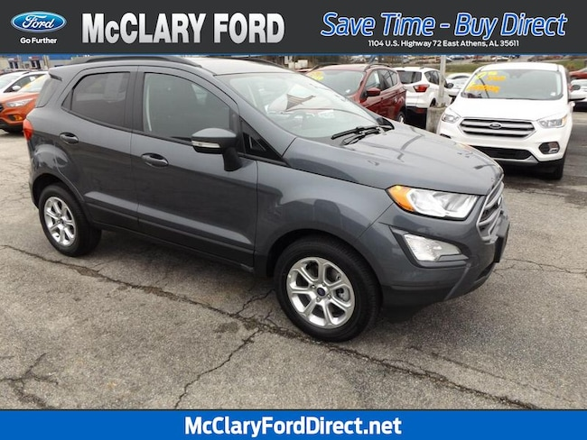new 2019 Ford EcoSport SE FWD in Athens, AL