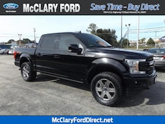 used 2018 Ford F-150 Lariat 4WD SuperCrew 5.5 Box in athens, AL