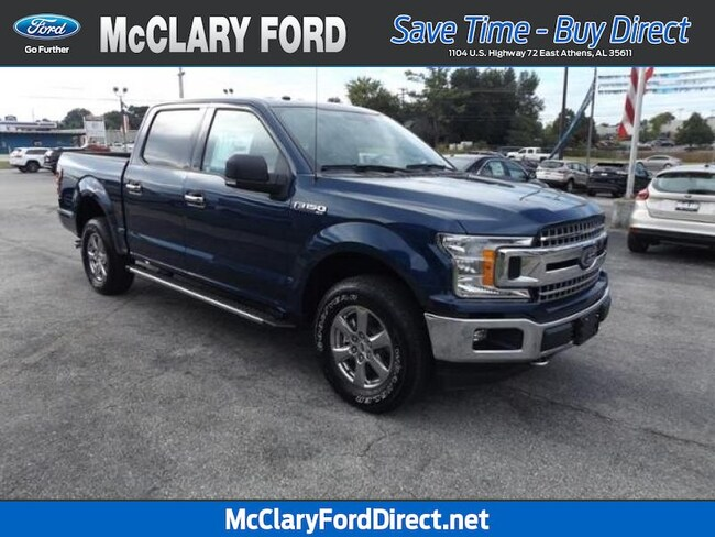 used 2018 Ford F-150 XLT 4WD SuperCrew 5.5 Box in Athens, AL