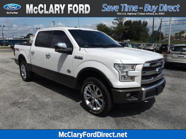 used 2016 Ford F-150 King Ranch 4WD SuperCrew 145 in Athens, AL