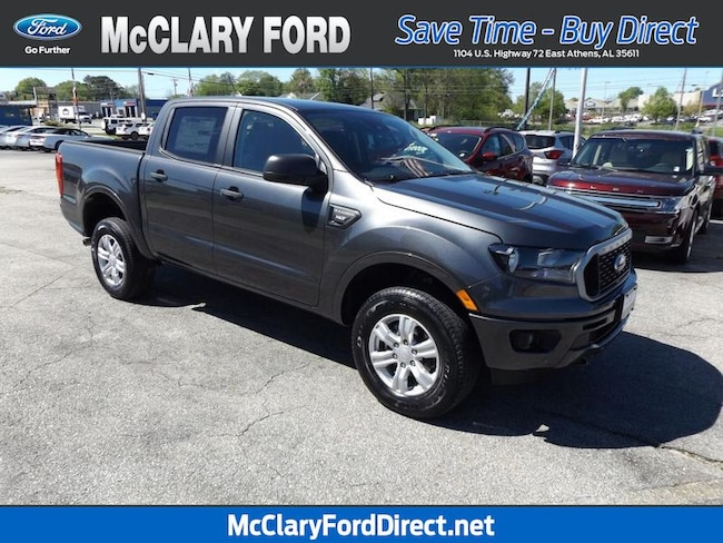 new 2019 Ford Ranger XLT 2WD SuperCrew 5 Box in Athens, AL