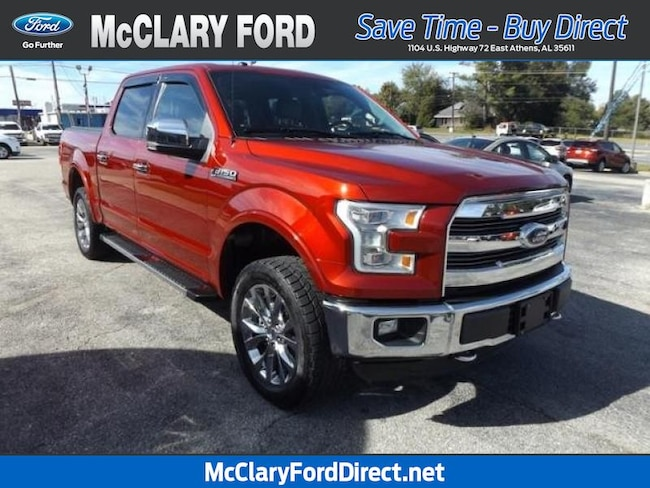 used 2016 Ford F-150 Lariat 4WD SuperCrew 145 in Athens, AL