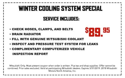 Winter Cooling System Special