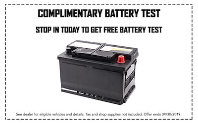 Let Us Check Your Battery For Free!