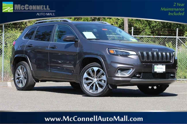 Certified Pre-Owned 2019 Jeep Cherokee Overland 4x4 SUV 1C4PJMJN0KD174269 for sale near Santa Rosa CA