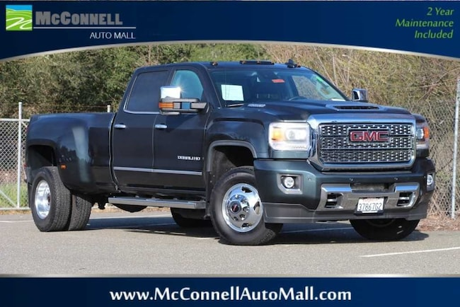 Used 2018 GMC Sierra 3500HD Denali Truck Crew Cab 1GT42YEY2JF144804 for sale near Santa Rosa CA