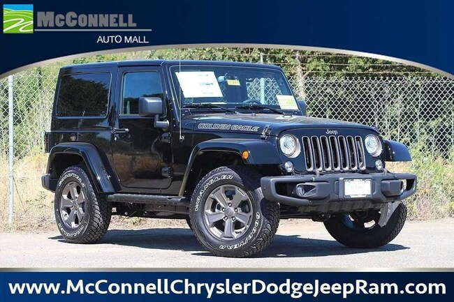 New 2018 Jeep Wrangler JK GOLDEN EAGLE 4X4 Sport Utility 1C4AJWAG6JL913247 1C4AJWAG6JL913247 for sale near Santa Rosa CA