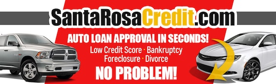 Santa Rosa Credit Auto Loan Bad Credit Auto Loans Car Loans