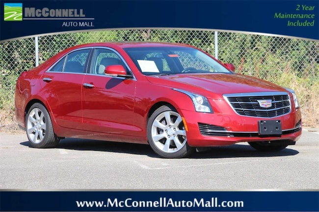 Used 2016 CADILLAC ATS 2.0L Turbo Luxury Collection Sedan 1G6AB5RX3G0103051 for sale near Santa Rosa CA