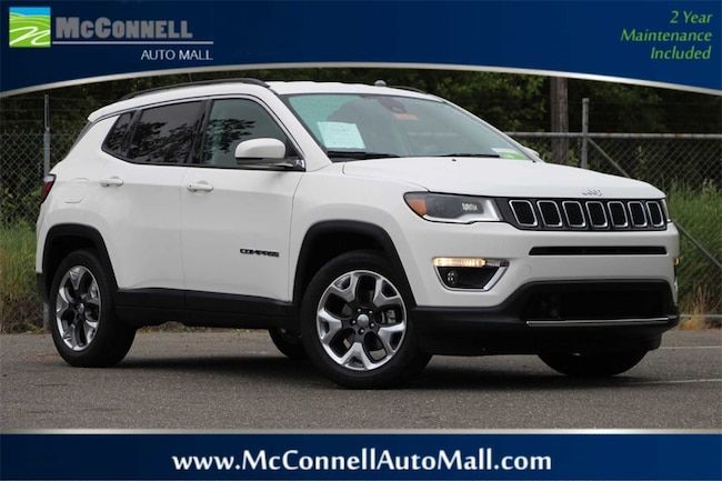 Certified Pre-Owned 2018 Jeep Compass Limited FWD SUV 3C4NJCCB1JT406228 for sale near Santa Rosa CA