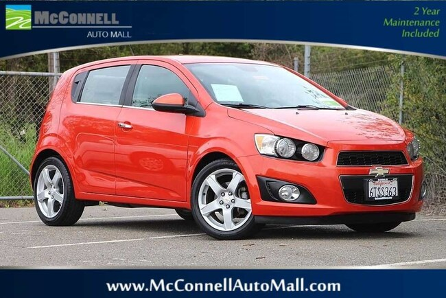Used 2012 Chevrolet Sonic LZ (A6) Hatchback 1G1JE6SH7C4103126 for sale near Santa Rosa CA