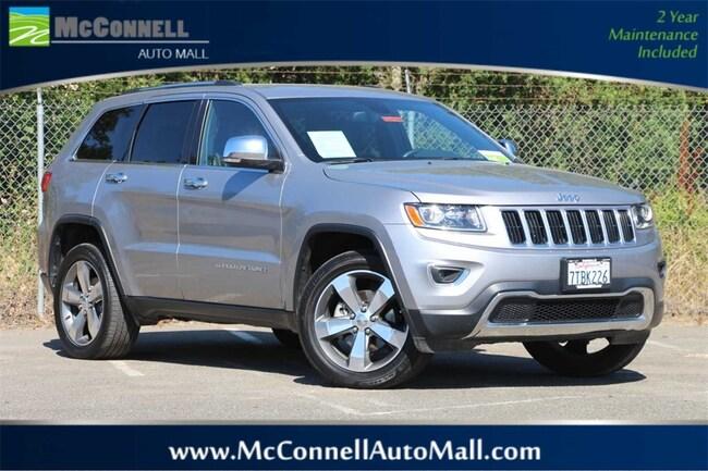 Used 2016 Jeep Grand Cherokee Limited 4x4 SUV 1C4RJFBG0GC391919 for sale near Santa Rosa CA