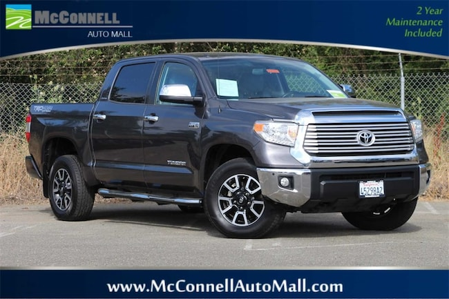Used 2016 Toyota Tundra Limited 5.7L V8 Truck CrewMax 5TFHY5F19GX570315 for sale near Santa Rosa CA