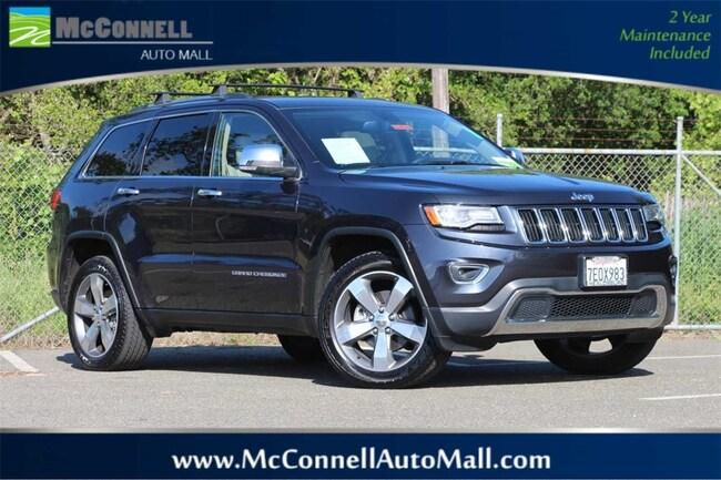Used 2014 Jeep Grand Cherokee Limited 4x4 SUV 1C4RJFBG1EC305532 for sale near Santa Rosa CA