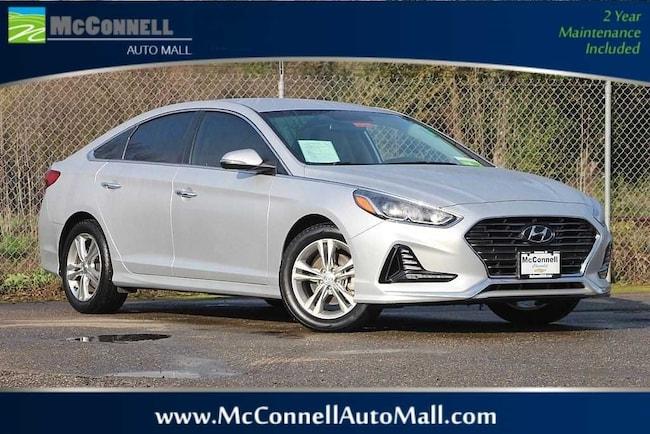 Used 2018 Hyundai Sonata SEL Sedan 5NPE34AFXJH593443 for sale near Santa Rosa CA