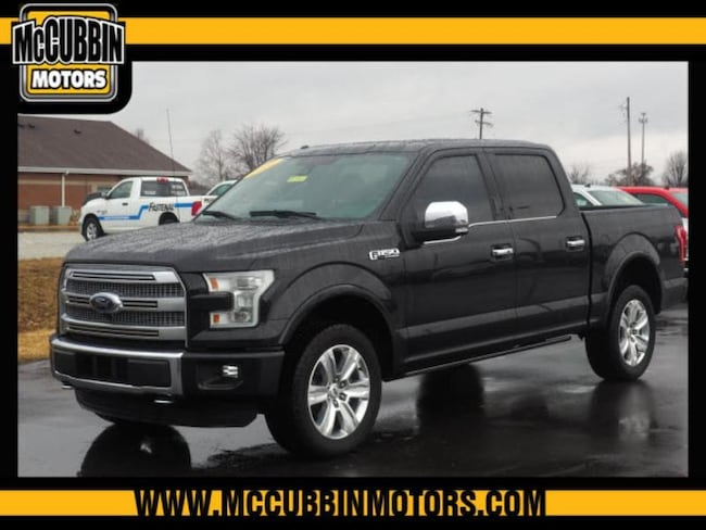 2015 Ford F-150 Platinum Crew Cab Short Bed Truck
