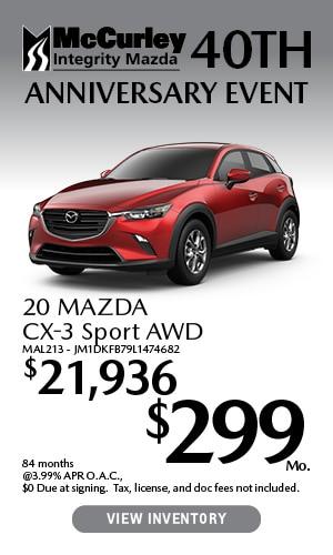 2020 Mazda CX-3 Special