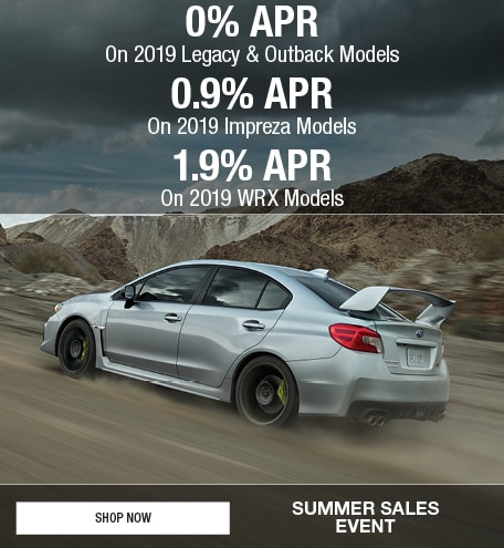 2019 Multi Vehicle APR Offers