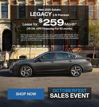 2020 Subaru Legacy October Special