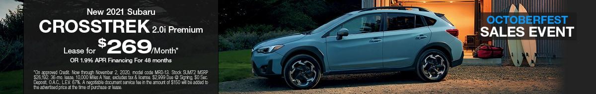 2021 Subaru Crosstrek October Special