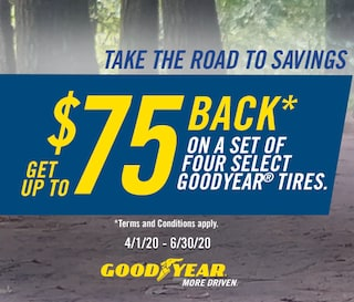 Goodyear: Get Up to $75 Back*