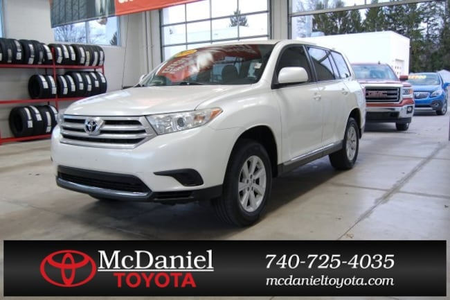 2012 Toyota Highlander For Sale >> Used 2012 Toyota Highlander For Sale Marion Oh 5tdza3eh6cs018623