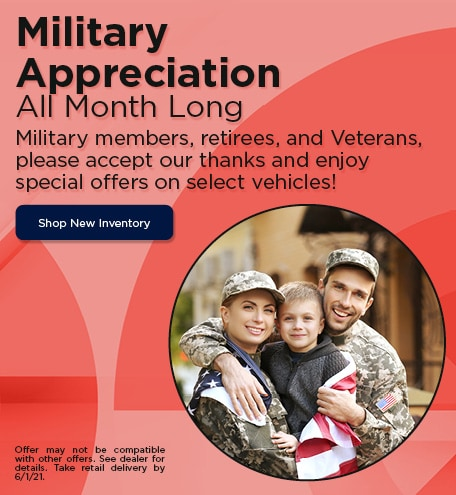 Military Appreciation | May Offer
