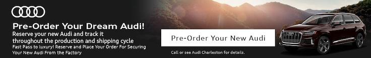 Pre-Order Your Dream Audi!