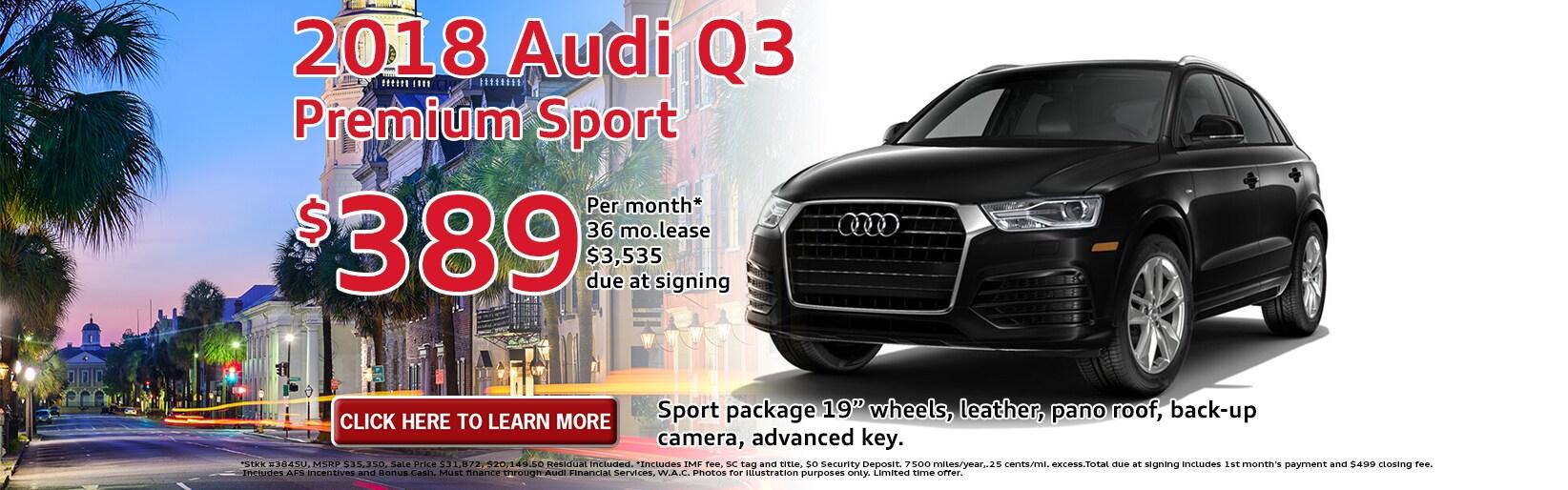 Charleston SC Audi Dealer New Used Audi Sales Specials Audi Service - Audi online payment