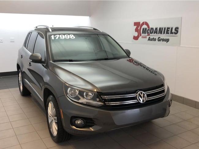 2014 Volkswagen Tiguan SEL SUV