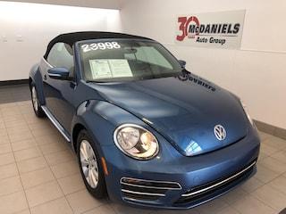 Certified 2018 Volkswagen Beetle 2.0T S Convertible for sale in Columbia, SC at McDaniels Volkswagen
