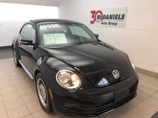 Certified 2015 Volkswagen Beetle 1.8T Classic Coupe for sale in Columbia, SC at McDaniels Volkswagen
