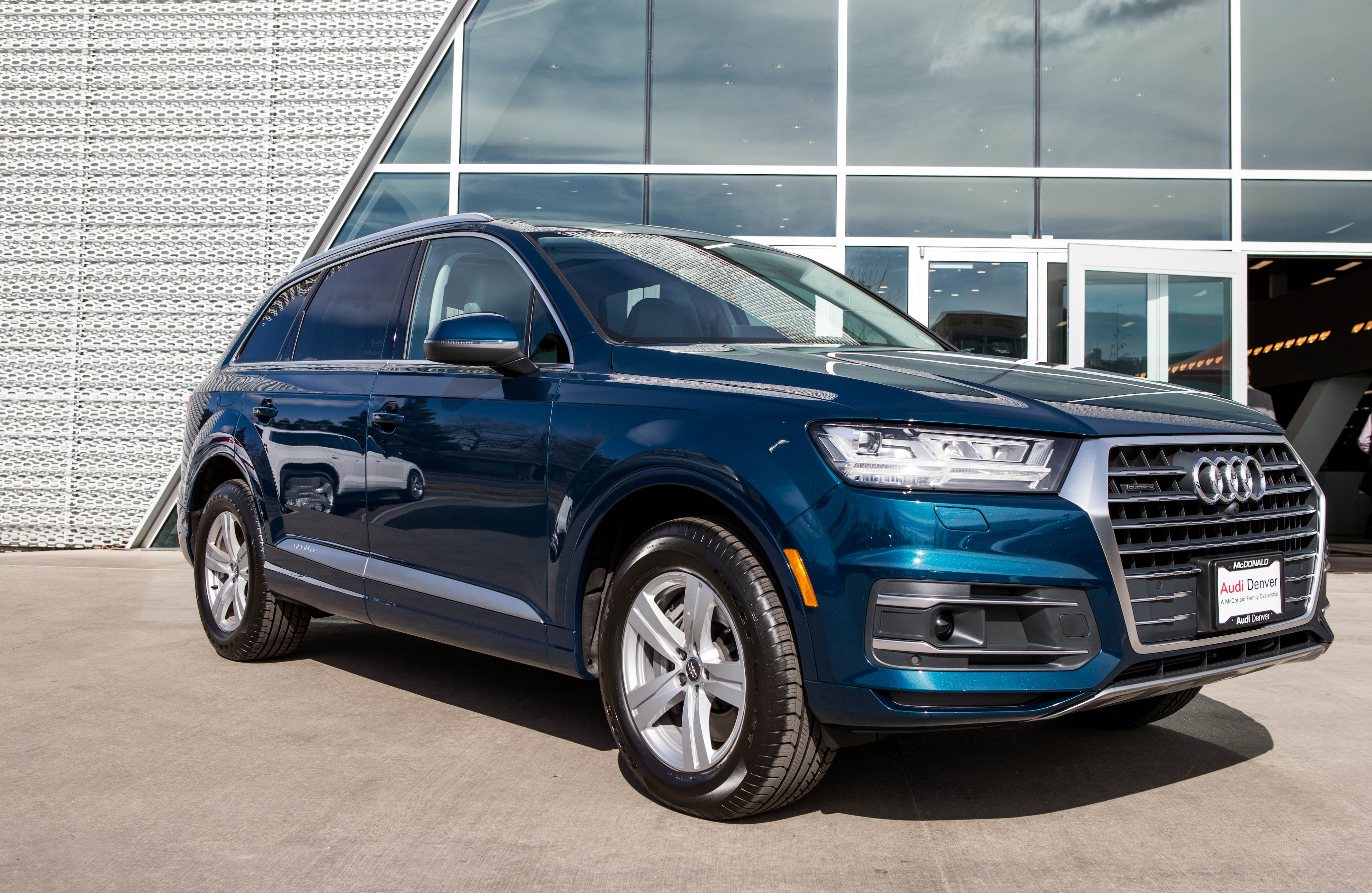 Audi Denver New Year New Color Introducing The Galaxy Blue - Mcdonald audi
