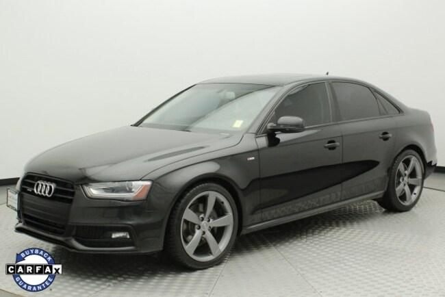 2014 Audi A4 2.0T Premium Sedan