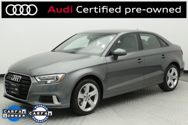 Pre-Owned 2018 Audi A3 2.0T Premium Sedan Littleton, CO