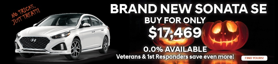Buy a Brand New Sonata for Only $17,469.