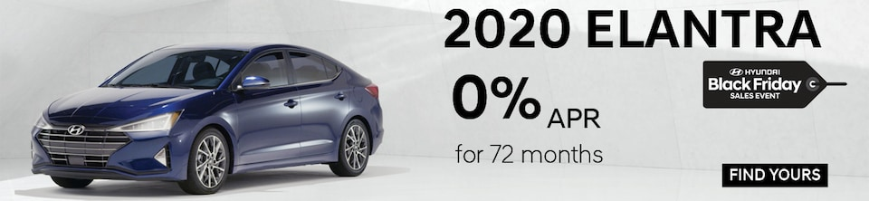 Black Friday Special! 2020 Elantra