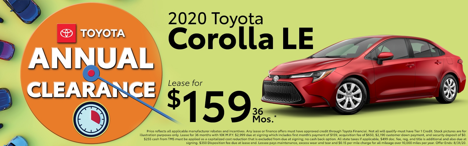 2020 Toyota Corolla LE at McGee Toyota of Epping